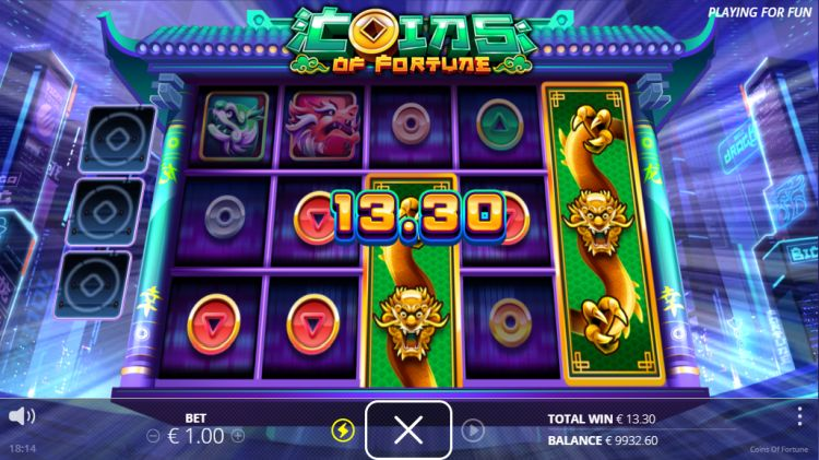 coins of fortune slot review nolimit city