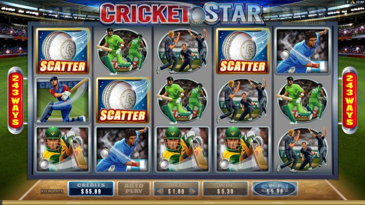 cricket star microgaming bonus trigger