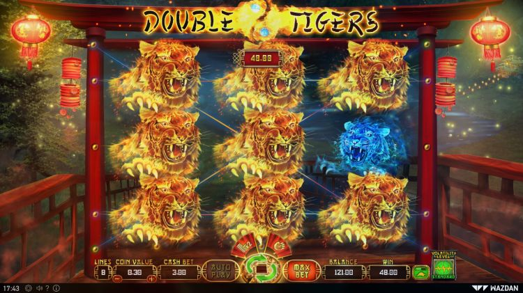 double-tigers-slot review wazdan win 2