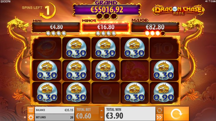 dragon-chase-quickspin slot review jackpot feature 3