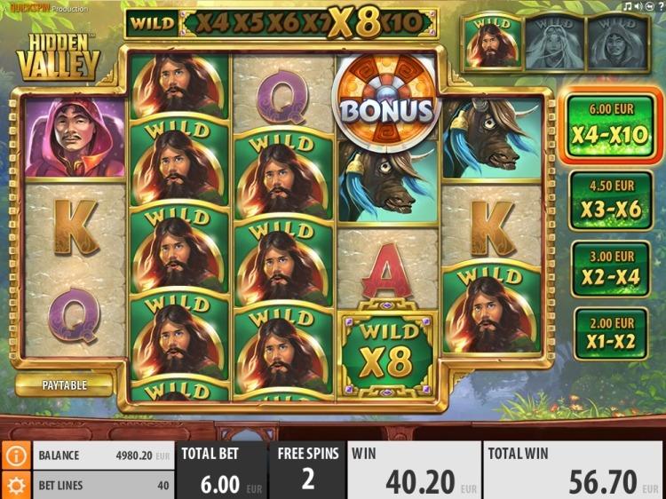 hidden-valley-slot quickspin bonus big win