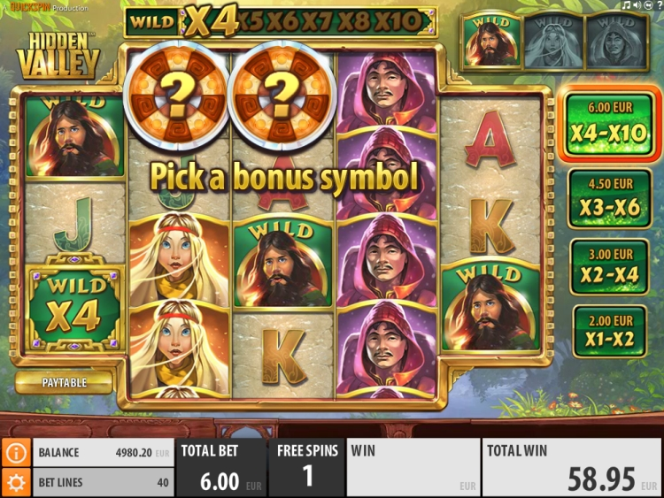 hidden-valley-slot quickspin bonus pick