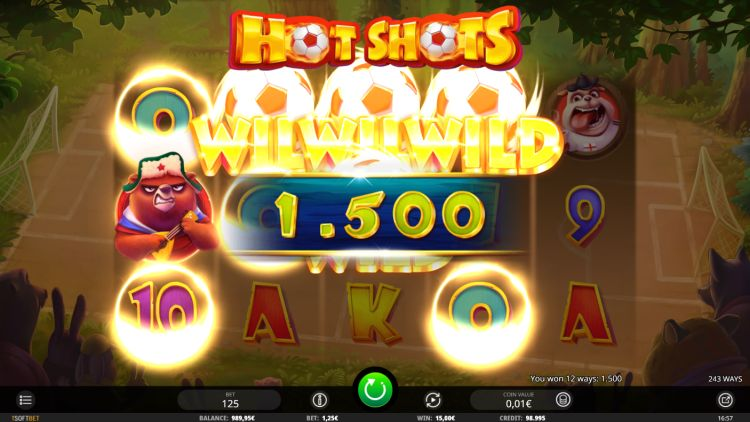 hot shots-slot review isoftbet