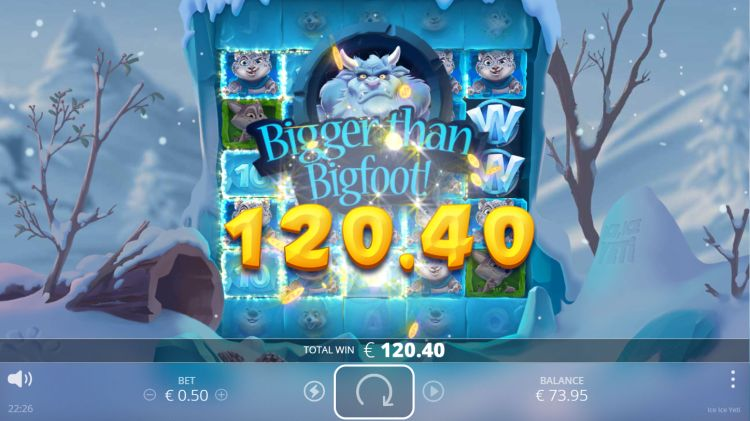 ice ice yeti-slot review