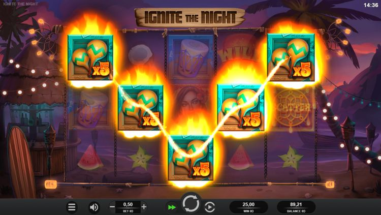 ignite-the-night-slot relax gaming review