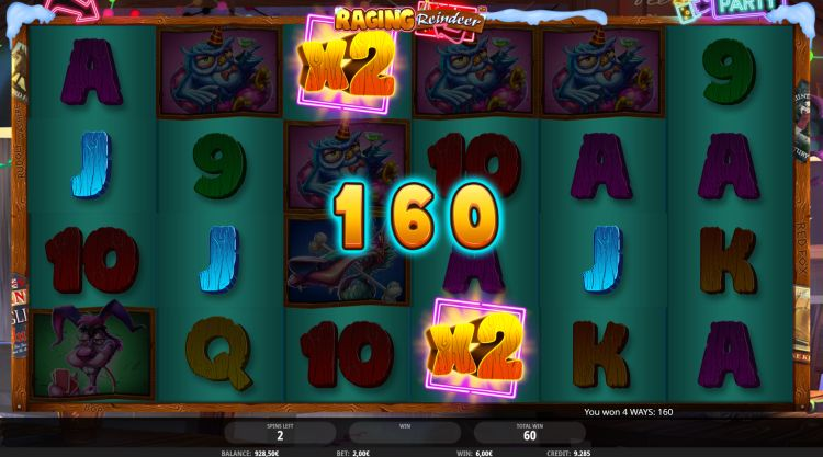 isoftbet raging-reindeer-slot review bonus win
