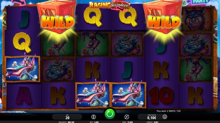 isoftbet raging reindeer-slot review win