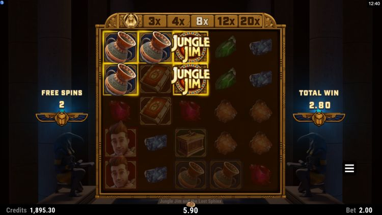 jungle jim and the lost sphinx microgaming free spins