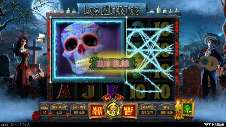 los-muertos slot review wazdan 2