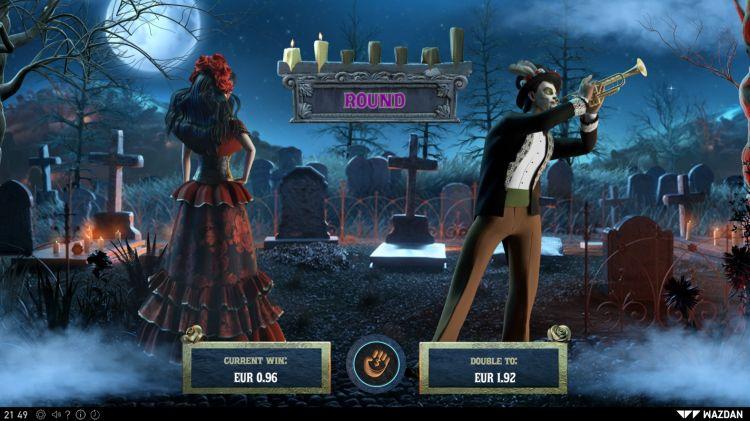 los-muertos slot review wazdan gamble feature