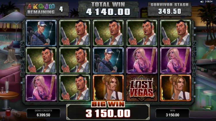lost-vegas-slot-review-microgaming bonus