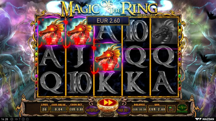 Magic of the Ring video slot