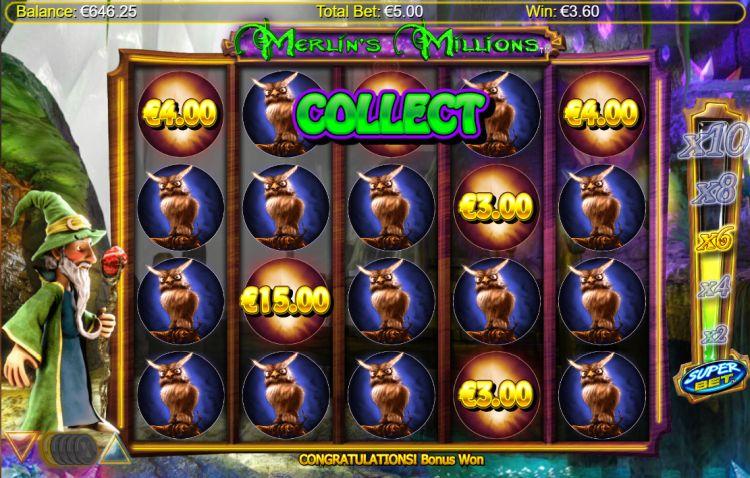 merlins-millions-slot pick em bonus