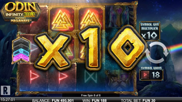odin-infinity-reels-megaways-slot-review free spins