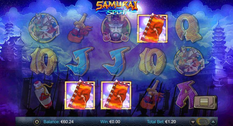 samurai-split-slot bonus