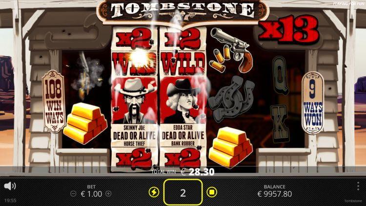 tombstone slot review mega win free spins