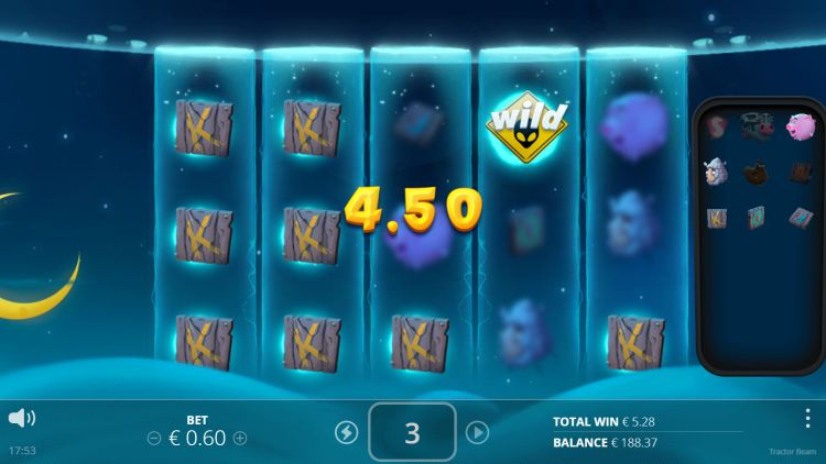 tractor beam slot review free spins
