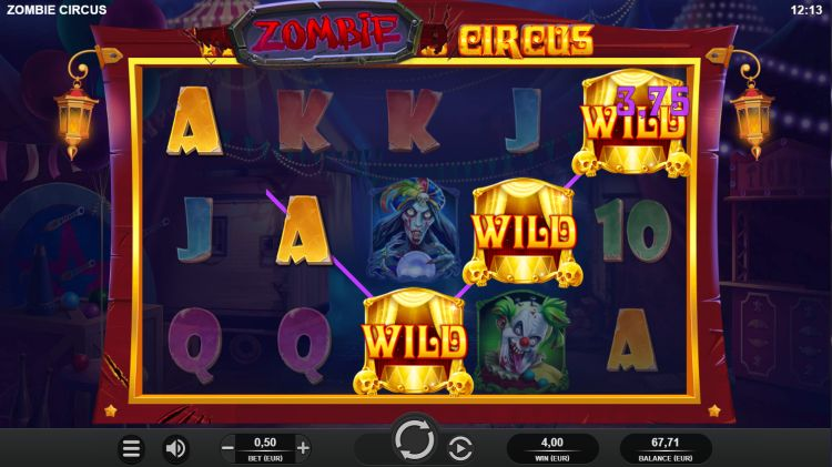 zombie-circus-slot review