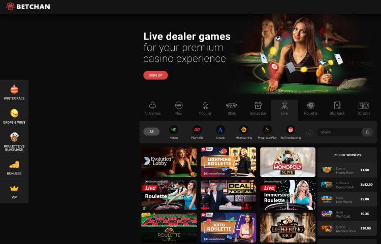 betchan-casino-review live casino