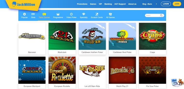 jack-million-casino-review-table-games