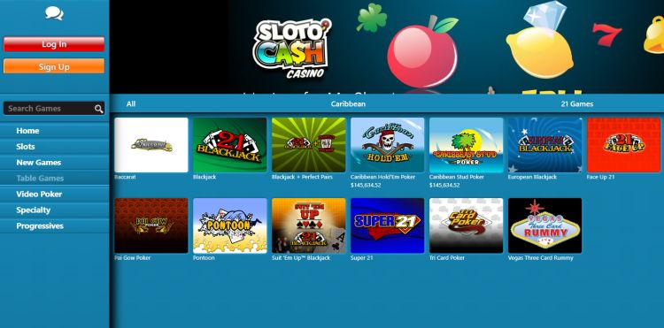 slotocash-casino-review-table-games