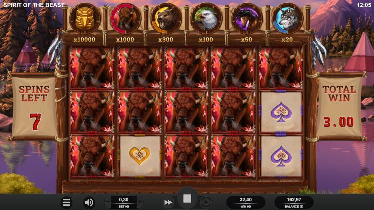 Bonus ulasan slot Spirit of the beast menang besar